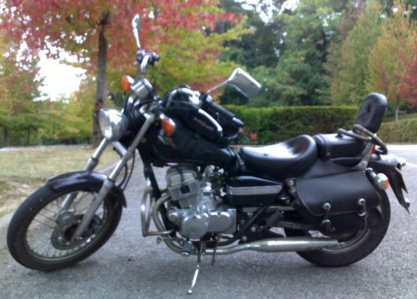 Moto Honda Rebel 125