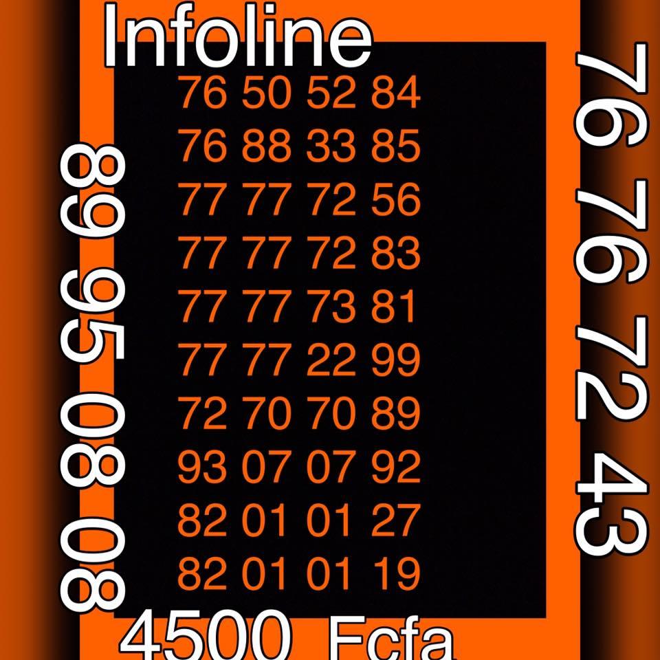 Puces Numeros Paires Orange à seulement 4 500 FCFA
