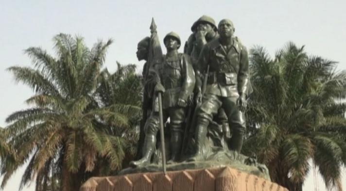 Monument des anciens combattants au Mali