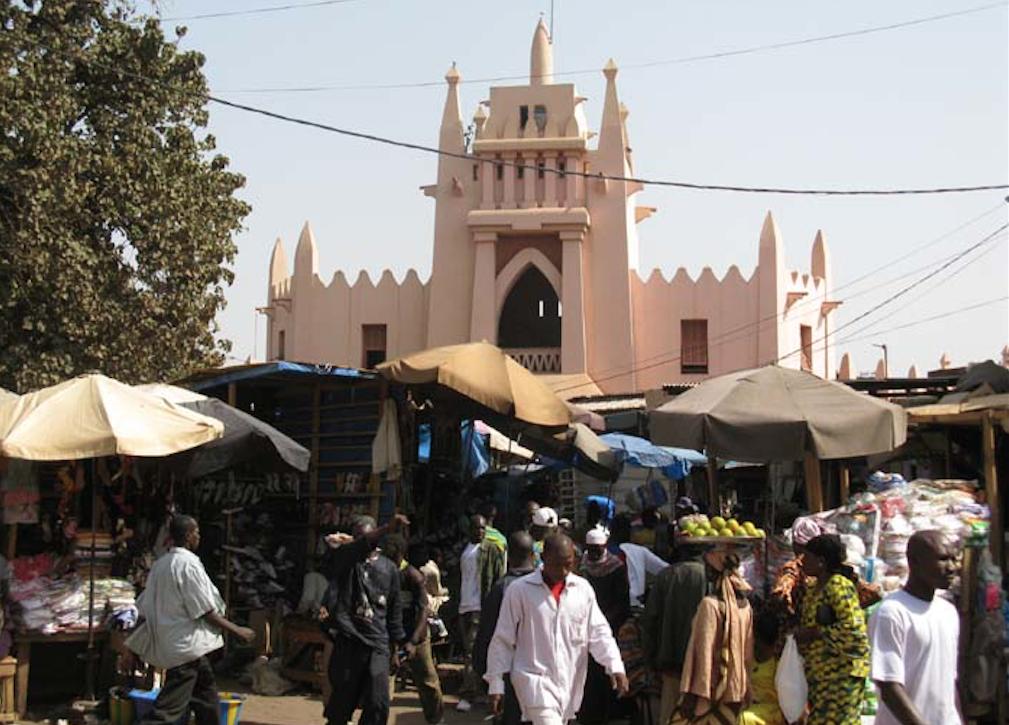 Marché rose de Bamako